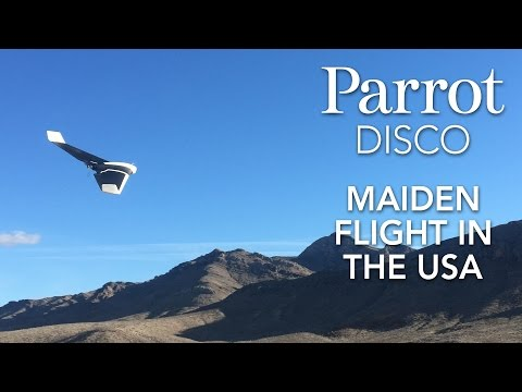 Watch Parrot's New Disco Drone In Action