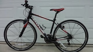 Cannondale Hybrid Quick 4 Bicycle Review including weight