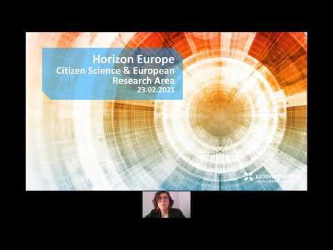 Citizen Science & European Research Area