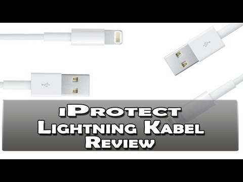 iProtect Premium Lightning USB Kabel Review