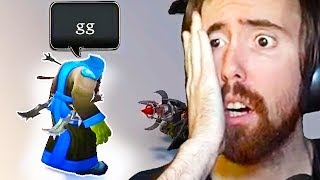 Asmongold Finds GLITCH To SECRET Zone & Gets STOPPED By Blizzard GM - WoW Shadowlands