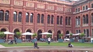 preview picture of video 'Victoria and Albert Museum Garden in The Royal Borough of Kensington & Chelsea, London'