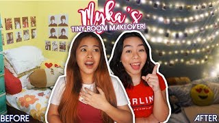 Mykas Tiny Room Makeover! | Cozy Fairy Lights Bedroom (Philippines)