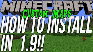 How To Download & Install Custom Maps In Minecraft 1.9 (Get Awesome 1.9 Custom Maps!)