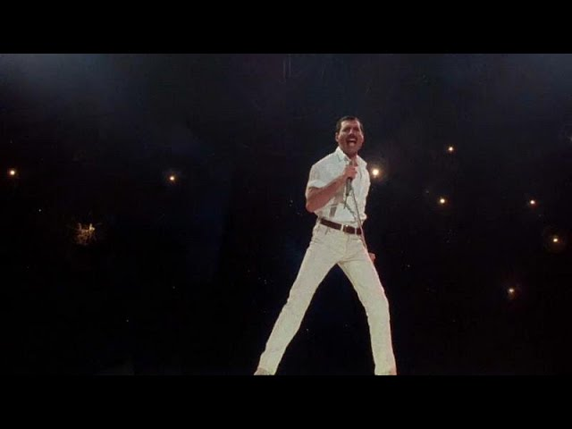 Previously lost Freddie Mercury performance of