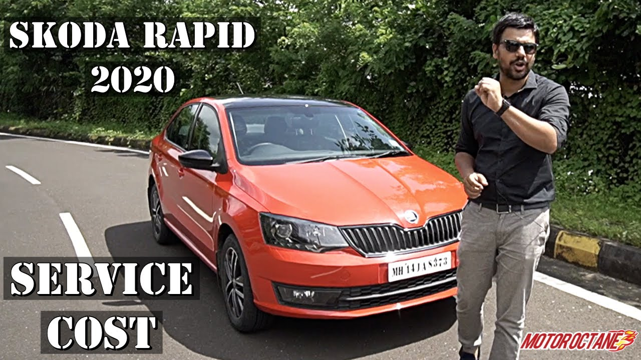 Motoroctane Youtube Video - Skoda Rapid 2020 Service Cost Details | Hindi | MotorOctane