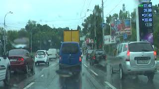 Урок вождения в дождь 25