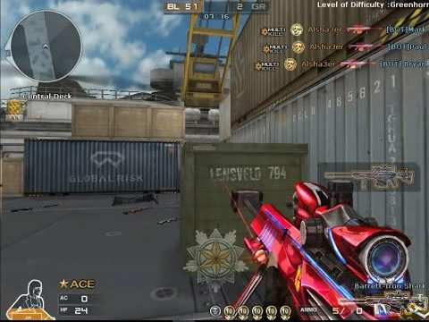 HG Enpi Barrett M82A1-Iron Shark[Vip] Gameplay[Crossfire] - смотреть