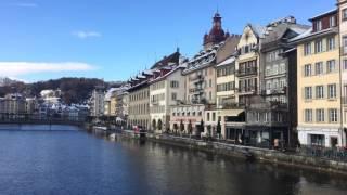 スイス発 カペル橋から見た景色【スイス情報.com】