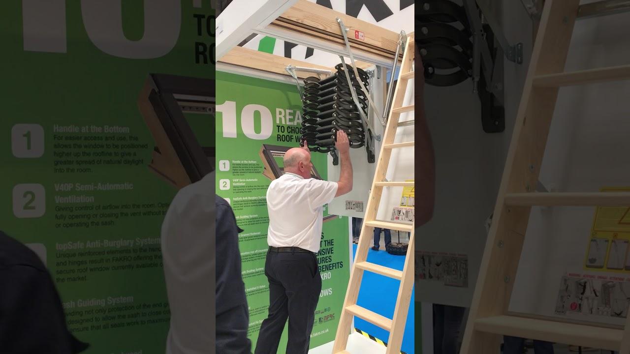 Scissor Loft Ladders - Fakro