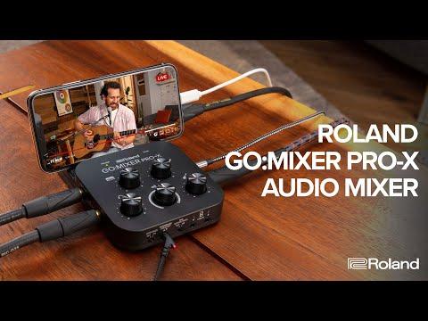 Roland Go:Mixer Pro-X - Mixer Podcast cu Interfata Audio