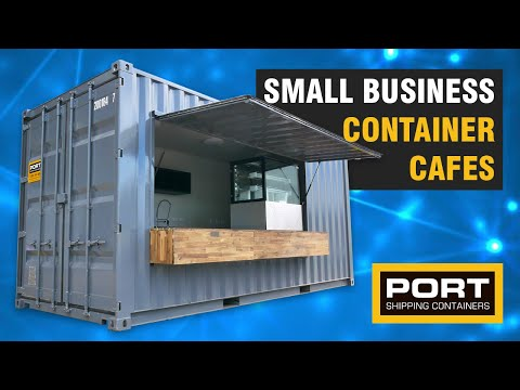 , title : 'Container Cafe built for Small Businesses - Port Shipping Containers