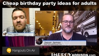Cheap Birthday Party Ideas For Adults