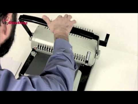 How To Use A Comb Binding Machine
