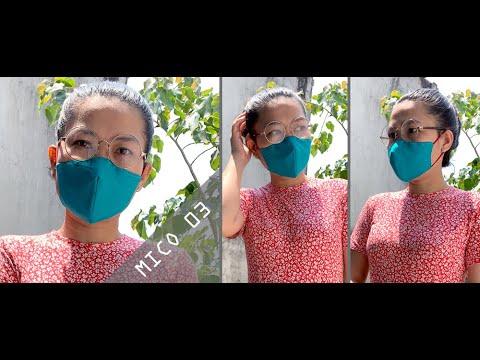 MICO03 (MICO03 - Khẩu trang Second skin siêu ôm mặt)