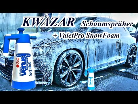 Kwazar Schaumsprüher Venus Super Foamer + ValetPro Snow Foam, Scirocco