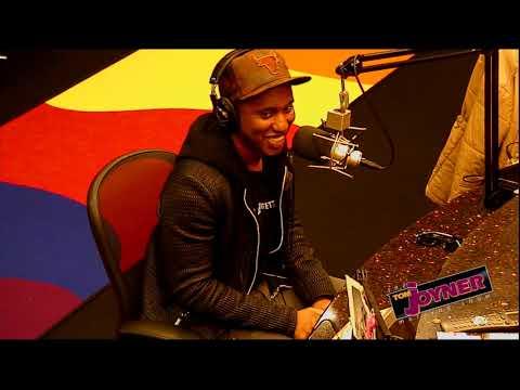 Chris Redd talks with the Tom Joyner Morning Show