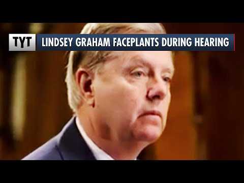 Lindsey Graham's PATHETIC Moment During Supreme Court Hearing