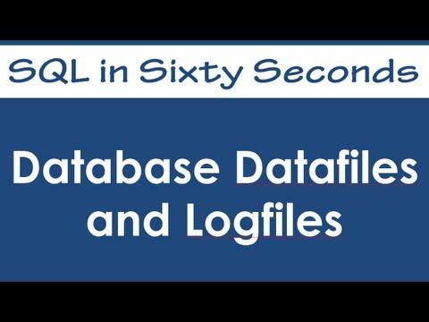SQL SERVER - SQL Basics: Database Datafiles and Logfiles - Day 8 of 10 0