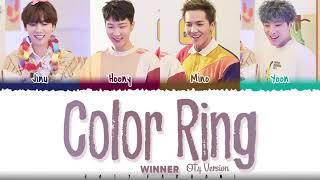 WINNER – 'COLOR RING' [4 Ver.] Lyrics [Color   - YouTube