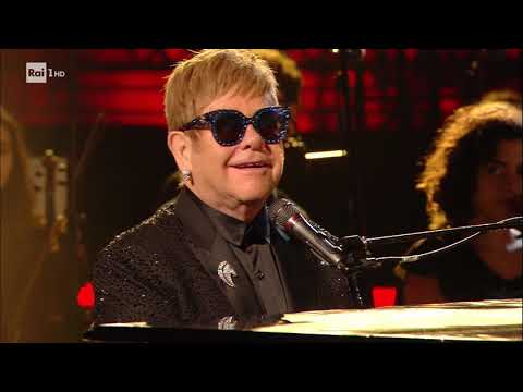 Elton John - Your Song - Roma Colosseo 15 Sett.2017
