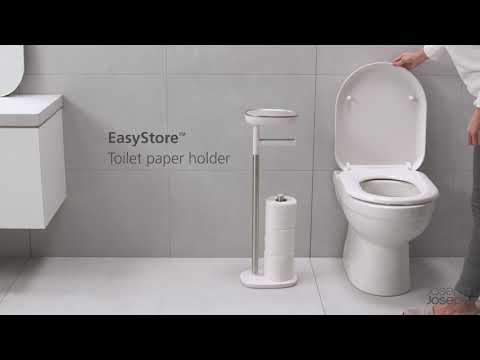 EasyStore Toilet Paper Holder: