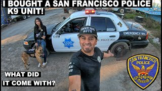 I Bought A San Francisco Police K-9 Unit! Crown Rick Auto