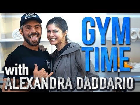 Download Baywatch Abs with Alexandra Daddario | Gym Time w/ Zac Efron HD Mp4 3GP Video and MP3