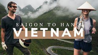 MOTORBIKE VIETNAM SOUTH TO NORTH - Travel Documentary