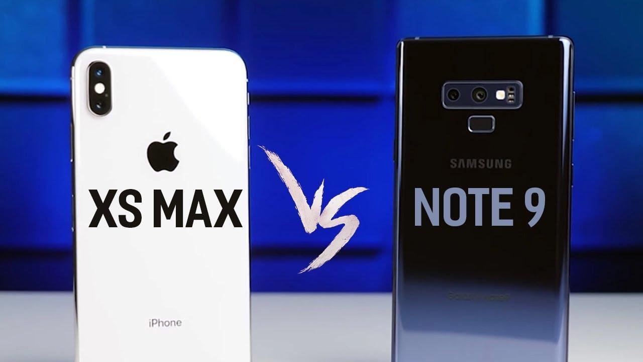 Galaxy Note 9 vs iPhone Xs Max: Liệu đắt gấp rưỡi có tốt hơn?