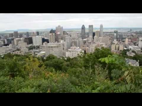 DOWNTOWN MONTREAL QC CITY SKYLINE