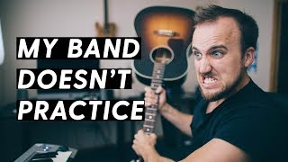 WHAT TO DO WHEN YOUR WORSHIP BAND MEMBERS SHOW UP UNPREPARED
