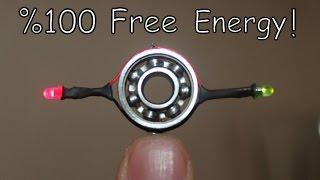 Stres Çarkı İle Sınırsız Elektirik Üretimi | FREE ENERGY