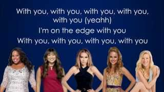 Glee - The Edge Of Glory (Lyrics)