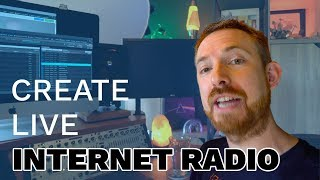 How To Create And Broadcast A Live Radio Station On The Internet (feat  Rocket Broadcaster)