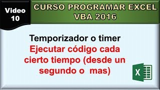 vba timer - Free video search site - Findclip Net