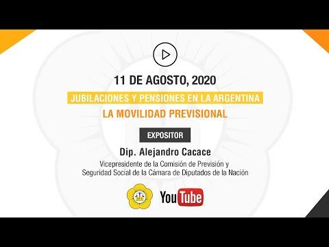 JUBILACIONES Y PENSIONES EN LA ARGENTINA: LA MOVILIDAD PREVISIONAL - 11 de Agosto 2020