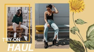TRY-ON ASOS, TOPSHOP, URBAN OUTFITTERS, ADIDAS & MORE HAUL!! | itslinamar