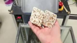 60mm square wheat cake test