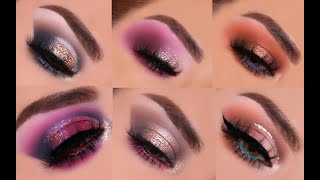 TATI BEAUTY PALETTE 9 EYESHADOW LOOKS | TUTORIAL PART 1