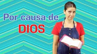 """Por causa de Dios. Devocional para niños """"Discípulos de Jesús"""" Amy & Andy"""