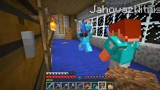 CrewCraft Livestream #20 - D4 vs Jahova! (Minecraft)
