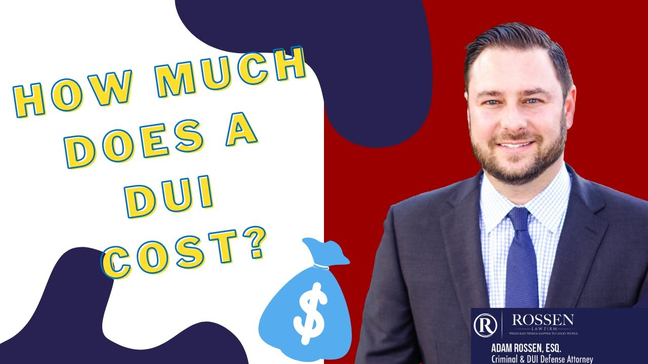 How much money does a Florida DUI cost?