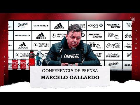 Marcelo Gallardo en conferencia de prensa (18/7/2021)