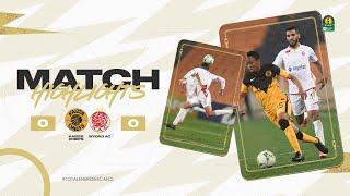 CAF CL | Demi finale retour : Kaizer Chiefs 0 – 0 Wydad AC
