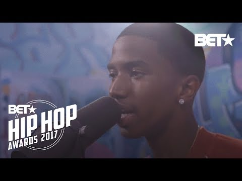 Christian Combs BET Hip Hop Awards 2017 Instabooth Freestyle