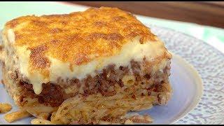 Pastitsio, my Dad's amazing - Greek Lasagna   Christine Cushing