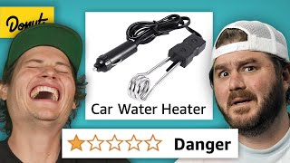 We Bought the WORST RATED Car Products on Amazon Again