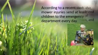 How Unsupervised and Careless Lawn Mowing is Dangerous
