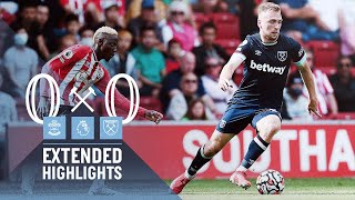 Southampton 0-0 West Ham United Pekan 4